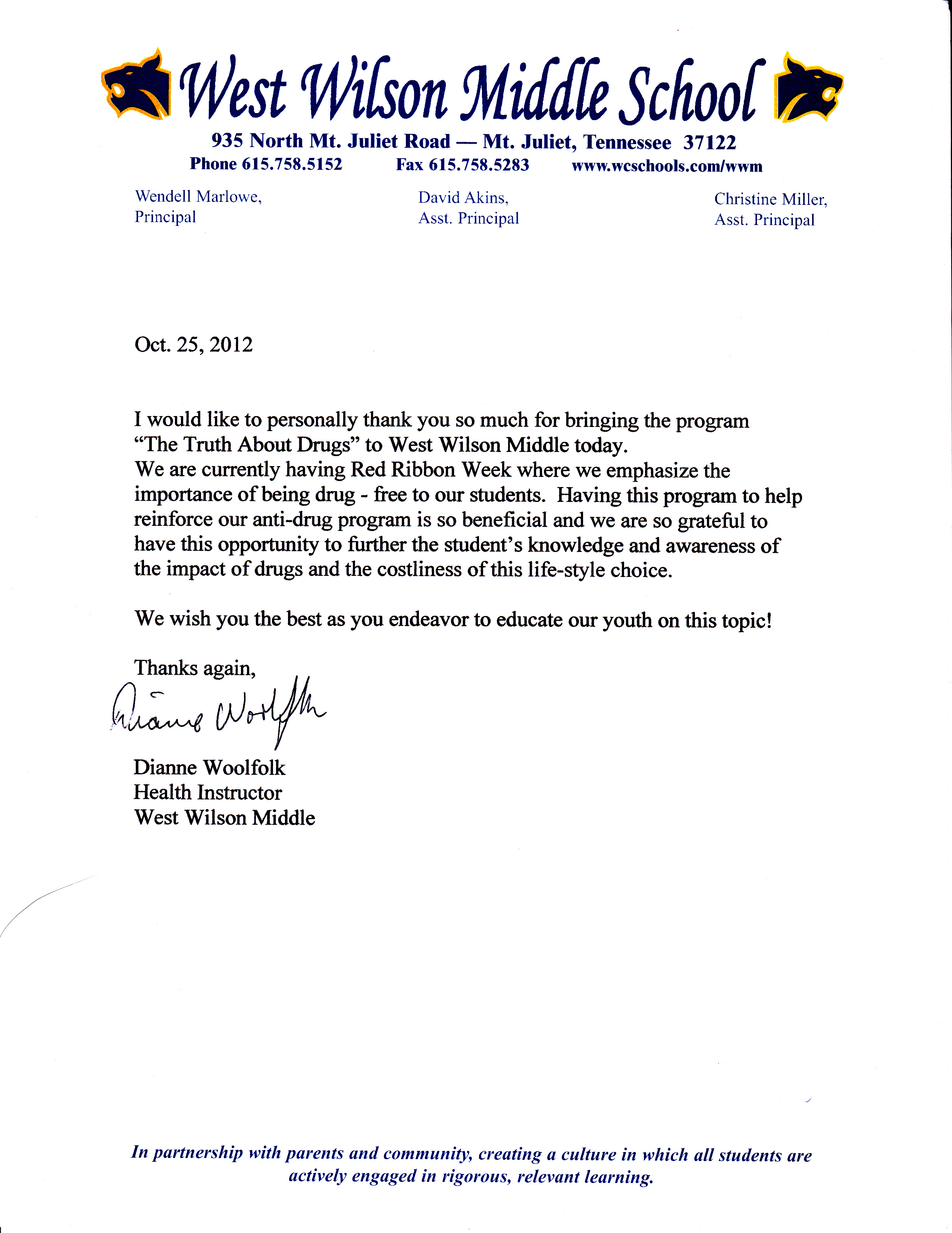 recommendation letter - wilson county  2